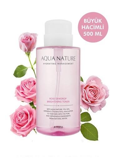 Missha Aydınlatıcı Ve Nemlendirici Tonik 500Ml Apıeu Aqua Nature Rose Dewdrop Brightening Toner Renksiz